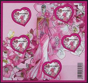 フランス・ウンガロ・バレンタイン・シート・2009