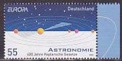 ドイツ・ヨーロッパ切手・天文・2009