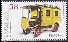 ドイツの切手・ヨーロッパ・郵便車・2013