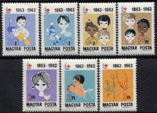 ハンガリー・赤十字100年・1963(7)