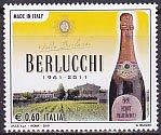 イタリアの切手・ベルルッキ社50年・2010