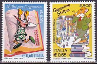 イタリアの切手・ヨーロッパ・児童書・2010(2)