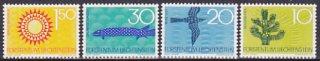 リヒテンシュタインの切手・自然保護4種・1966(4)