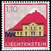 リヒテンシュタインの切手・駅・2010