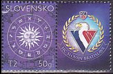 スロバキアの切手・十二宮・2003
