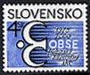 スロバキア・OBSE25年・切手・2000