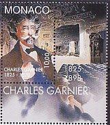 モナコ・シャルル・ガルニエ死去100年・1998