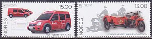 ノルウェー・ヨーロッパ・郵便車・2013(2)