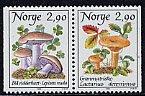 ノルウェー・マッシュルーム・きのこの切手・1988(2)