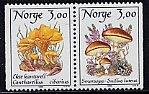 ノルウェー・マッシュルーム・きのこの切手・1989(2)