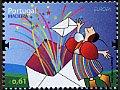 マデイラの切手・ヨーロッパ・手紙・2008
