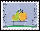 ポーランドの切手・ラブ・2002