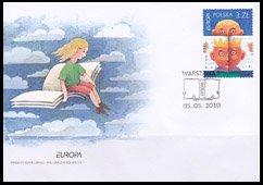 ポーランド・ヨーロッパ・児童書・FDC・2010