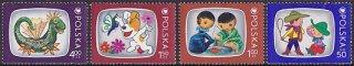 ポーランド・テレビキャラクター切手(4)