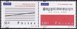 ポーランド・ヨーロッパ切手・音楽・1998(2)