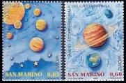サンマリノ・ヨーロッパ切手・天文・2009(2)