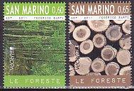 サンマリノの切手・ヨーロッパ・森林・2011(2)