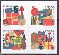 スウェーデン・クリスマス切手・2009(セルフ糊)