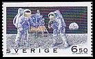 スウェーデン・月面着陸25年・1994