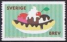 スウェーデンの切手・アイスクリーム・2011