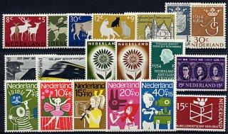 オランダ・1964年・切手セット