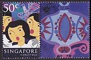 シンガポール・クリスマス・切手・2004