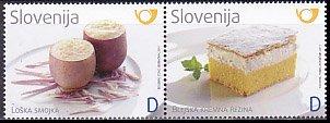 スロベニア・美食・切手・2011(2)