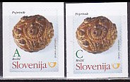 スロベニア・クリスマスのパン・切手・2011(2)セルフ糊