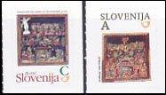 スロベニア・クリスマス切手・2013(2)セルフ糊