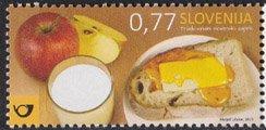 スロベニア・伝統的な朝食・2015・香り付き