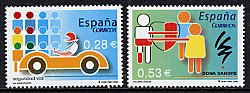 スペインの切手・公衆道徳・2006(2)
