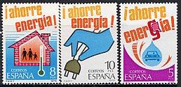スペイン・省エネルギー・切手・1979(3)