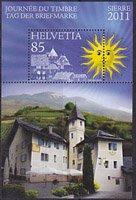 スイス・切手の日・小型シート・2011