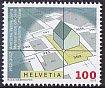 スイス・地籍調査100年・切手・2012