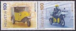 スイス・ヨーロッパ切手・郵便車・2013(2)