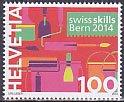 スイス・技能選手権・切手・2014