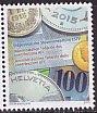 スイス・課税局100年・切手2015