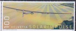 スイス・ソーラーインパルス・切手・2016