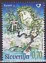 スロベニア・神話・切手・2010