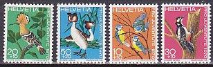 スイス・児童福祉・鳥・1970(4)