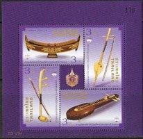 タイ・切手展・楽器・2015・S/S