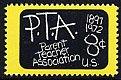 USAの切手・PTA・1972