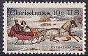 クリスマス・馬そり・1974