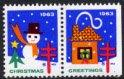 USA・クリスマスシール・1963