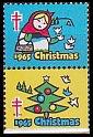 USAクリスマスシール・ 1965(2)