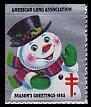 USAクリスマスシール・ 1985・シルバー