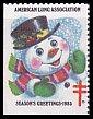USAクリスマスシール・ 1985・ホワイト