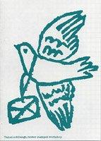 レターセット・鳩