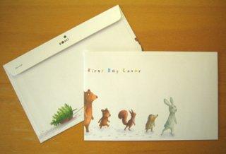 フィンランド・クリスマス封筒