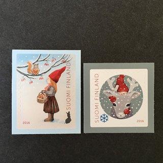 フィンランドの切手・クリスマス・2016(2)